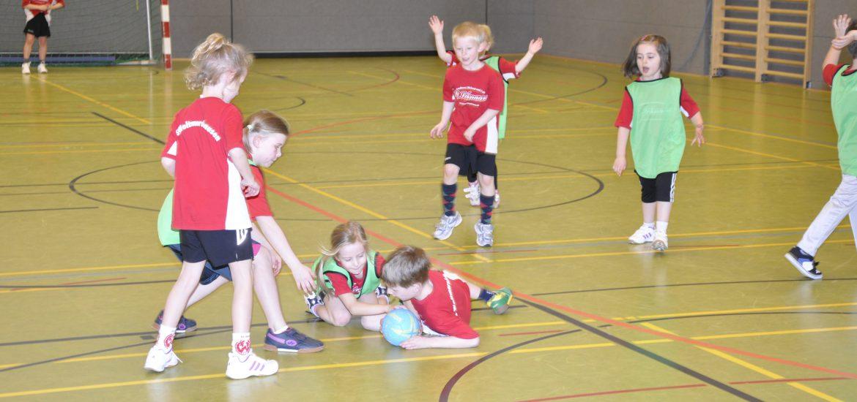 Testbild Handball