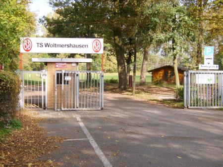 Eingang zur Hanseatenkampfbahn