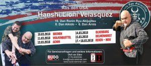 Budo Lehrgang mit dem Großmeister Leoni Velasquez aus den USA! @ Mehrzweckhalle Roter Sand des TS Woltmershausen