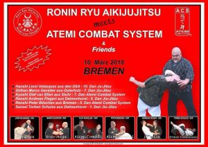 Ronin Ryu Aiki-Jujitsu meets ACS & Friends @ Sporthalle Roter Sand TS Woltmershausen